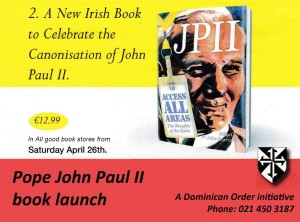 Irish book on JPII