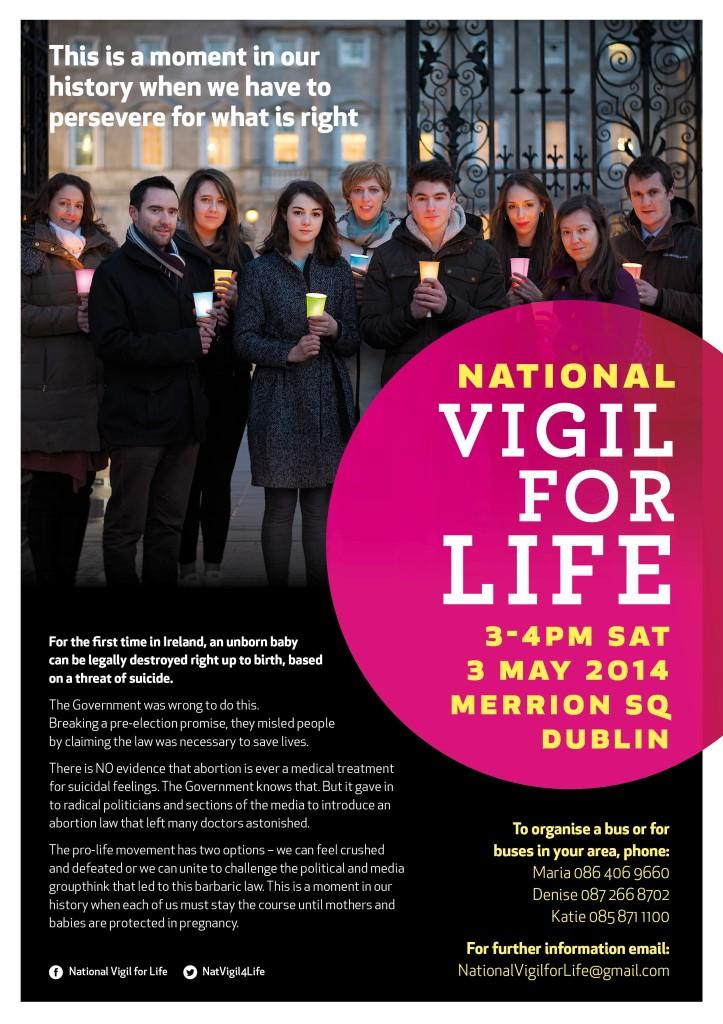 Vigil for life Ireland